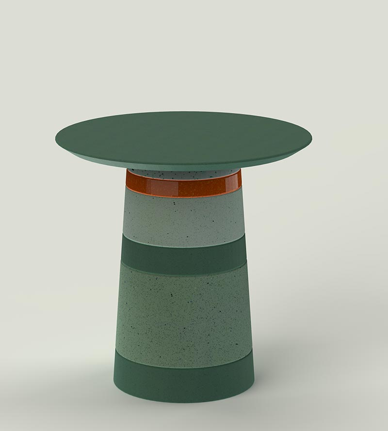 Superpositum Tall table