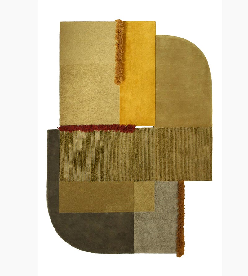 Selce Marcansite Yellow Rug