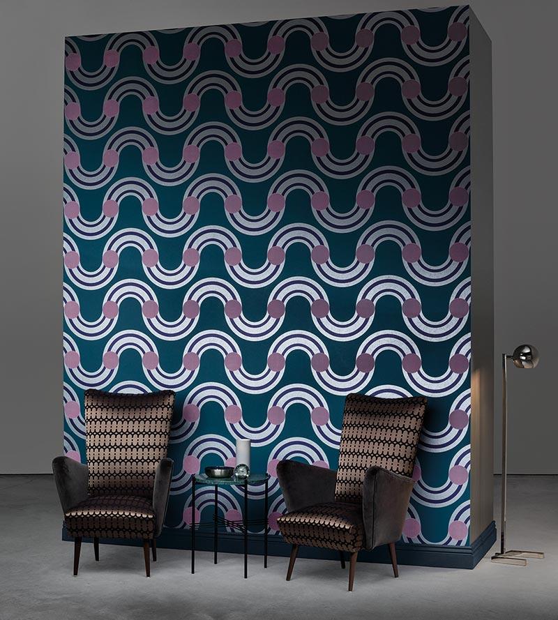 Spot on weaves wallpaper Kirkby design