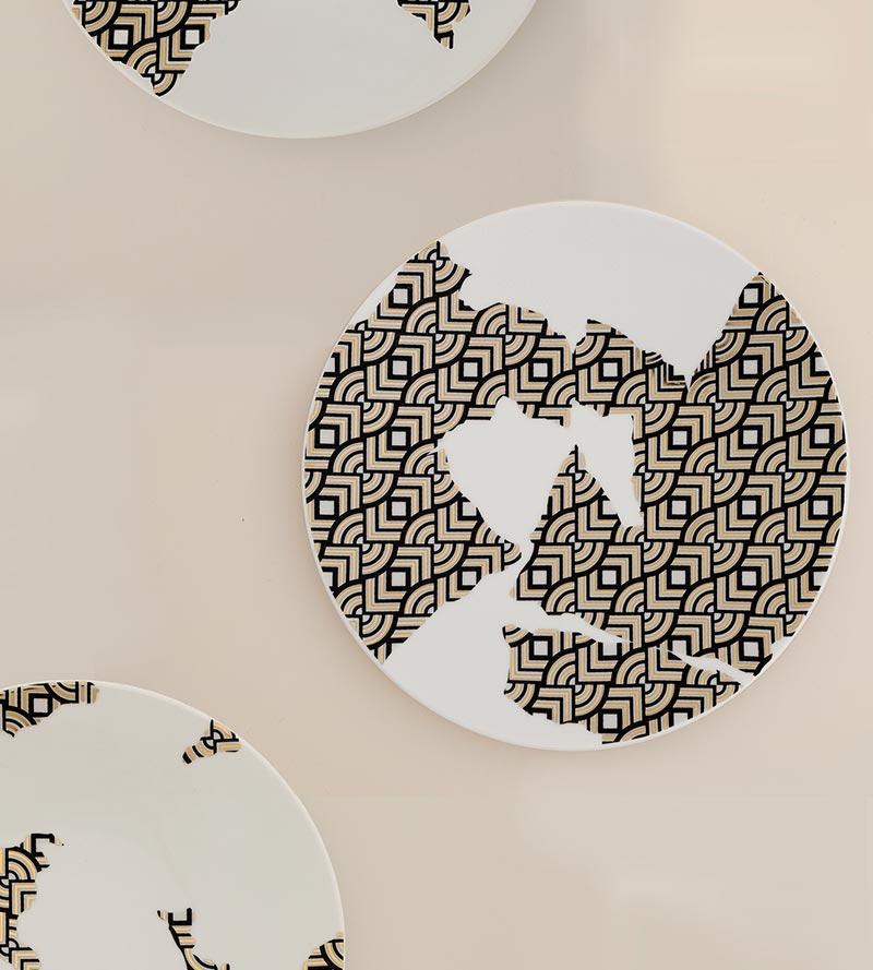 Broken Beauty Porcelain Plates