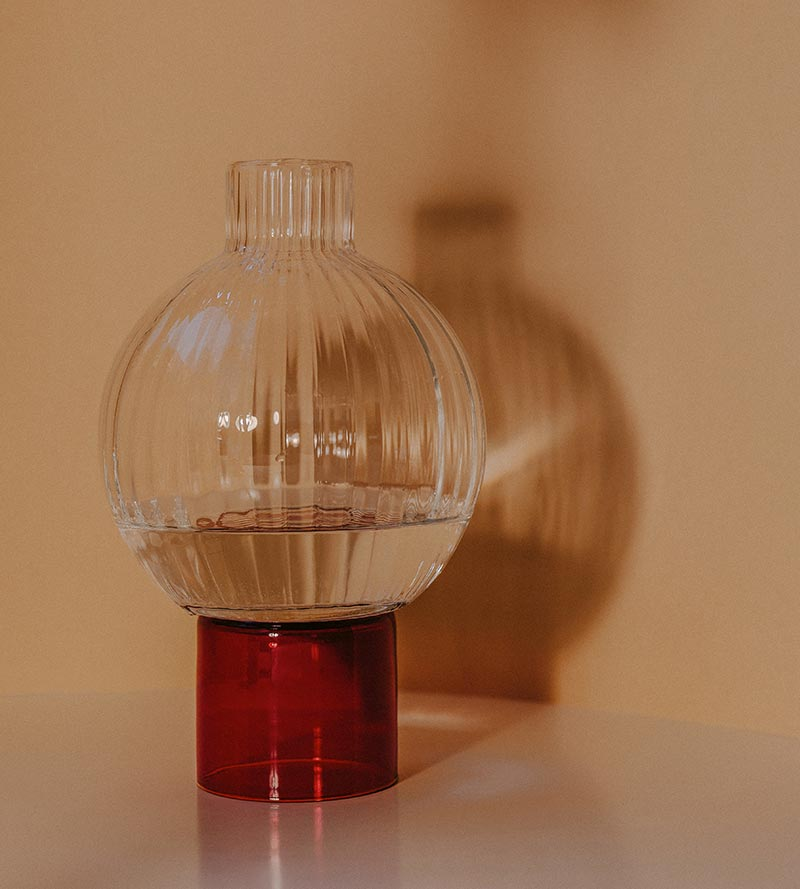 Bordeaux Flower Vase