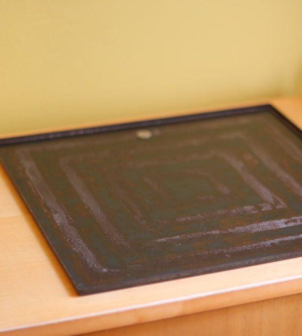 Iron tray