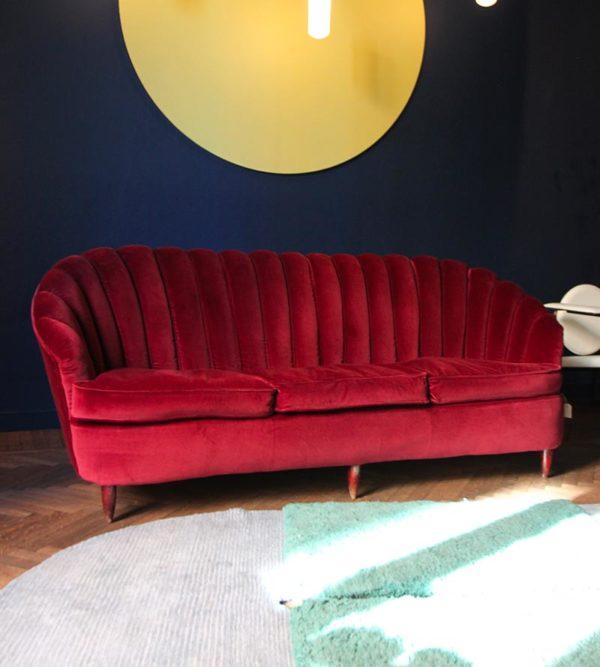 Vintage shell sofa