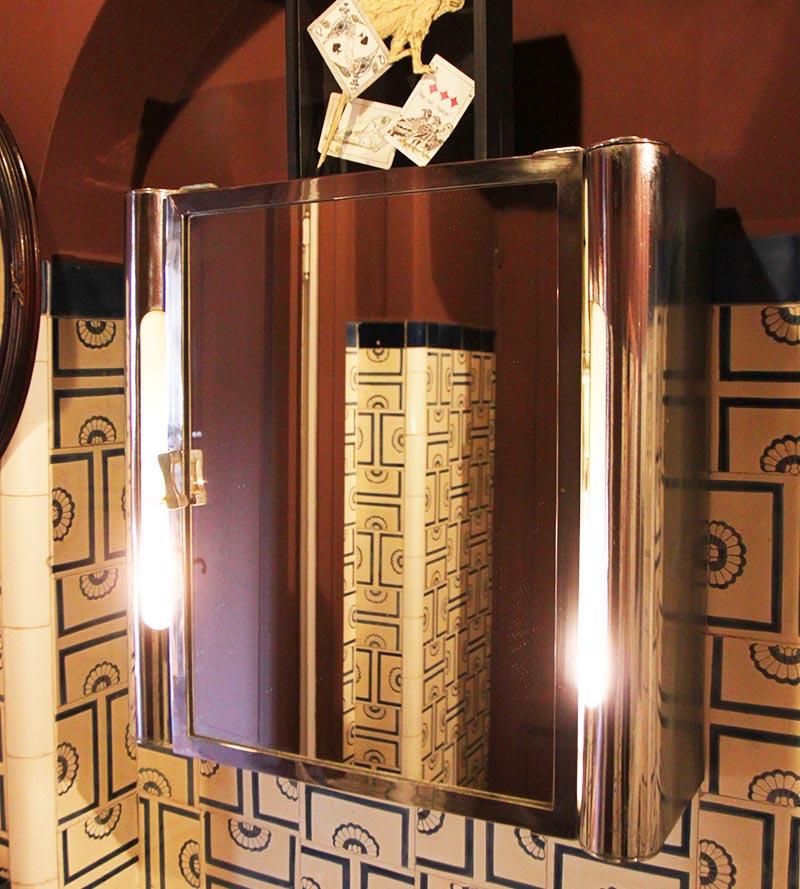 Vintage Mirror Cabinet