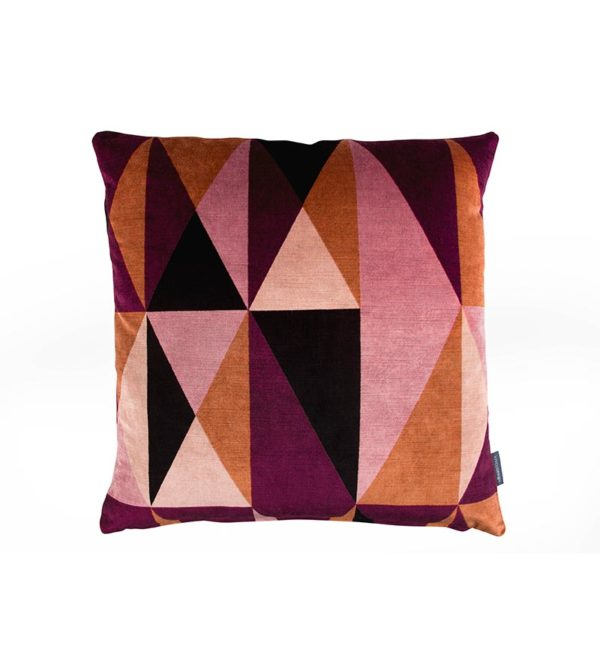Pillow Arco Plum Kirkby Design