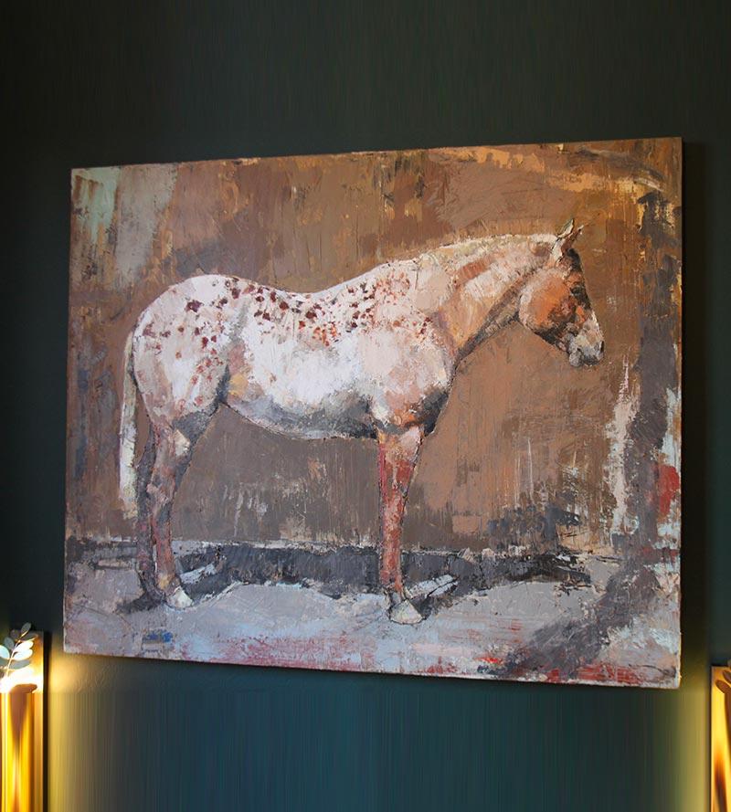 Quadro cavallo Andrea Maiotti