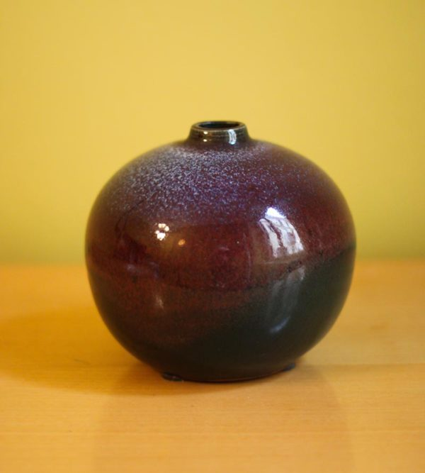 French dark vase