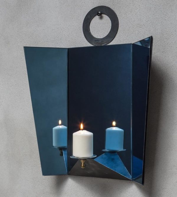 Ventola Blu Wall Light