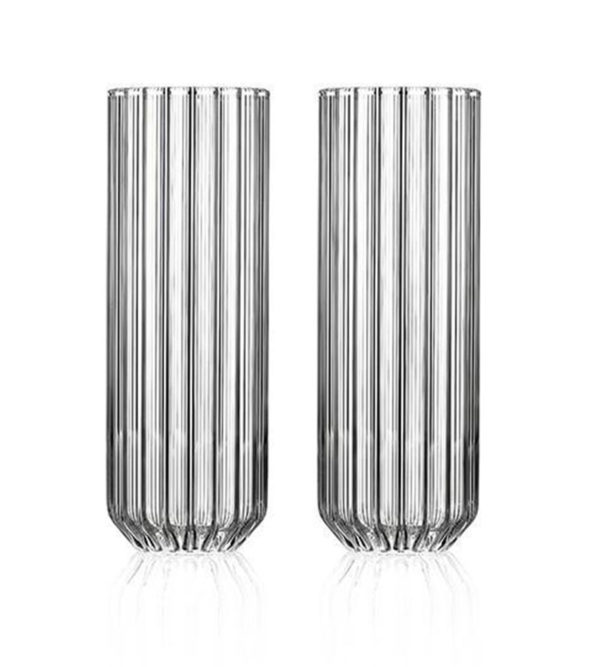 Dearborn Collins Glass – Set of 2