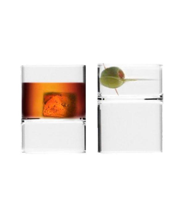Revolution Rocks and Martini Glass – Set of 2