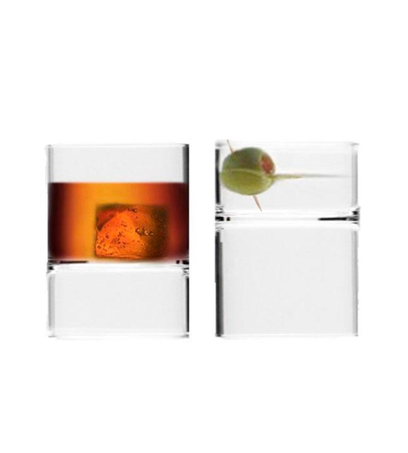 Revolution Rocks / Set of 2 Martini glasses