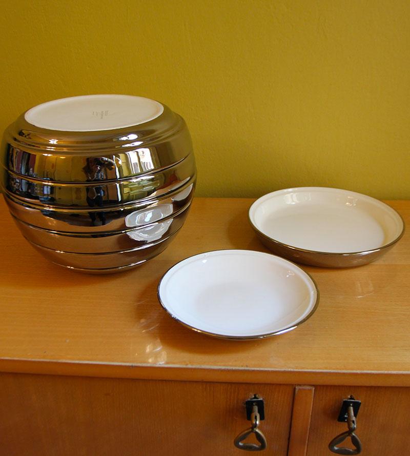 Silver Plates set