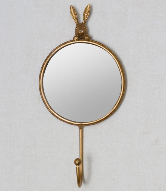 Rabbit hook with mirror