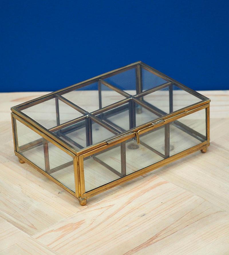 Jewels glass box 6 boxes