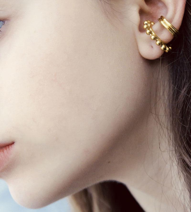 DOUBLE WIRE EAR CUFF