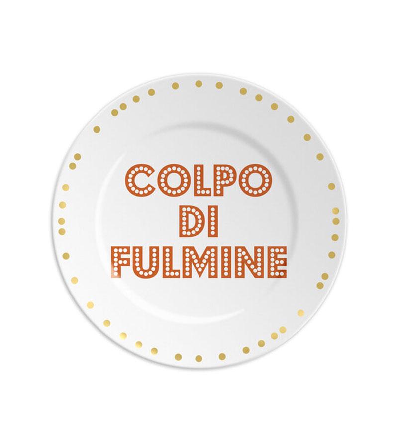 COLPO DI FULMINE PLATES