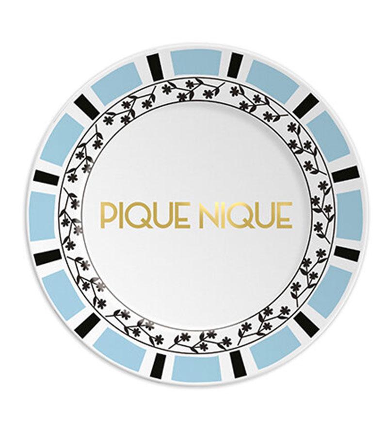 PIQUE-NIQUE PLATE