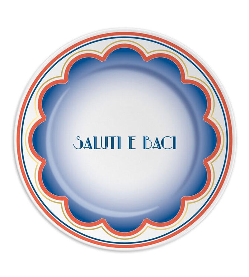 SALUTI E BACI PLATES