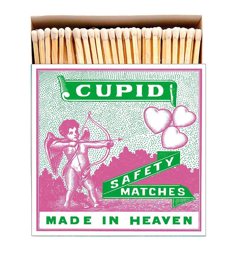 Cupid matchbox