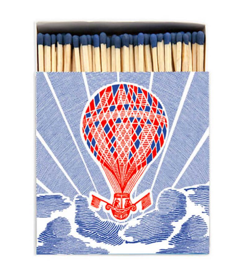 Hot air balloon matchbox
