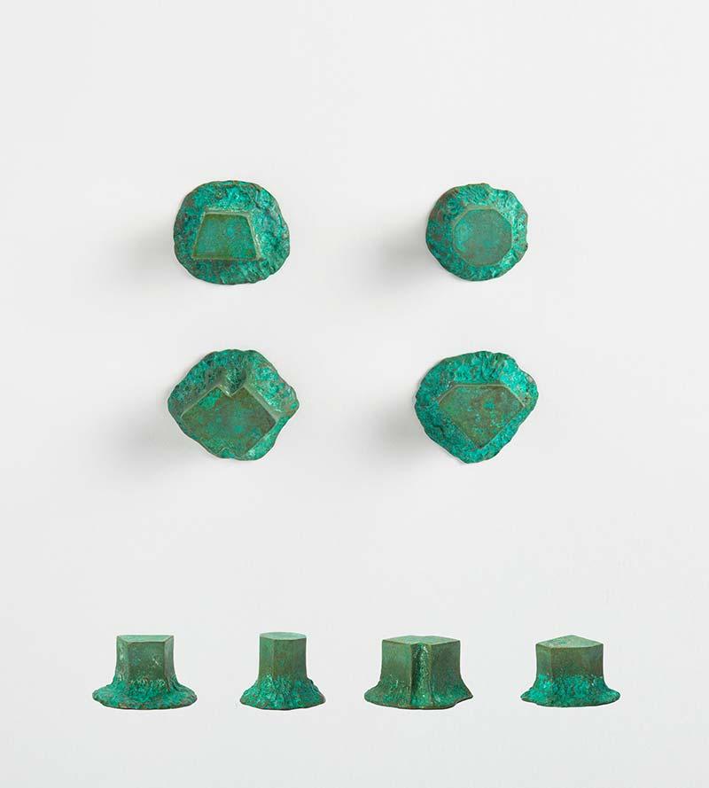 SOLIDO – Green brass knob