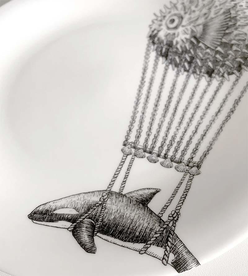MONTGOLFIER ORCA PLATE